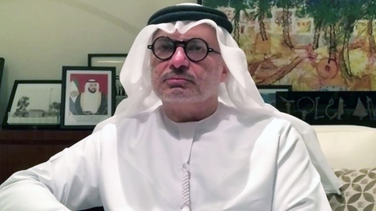 Anwar Gargash, Minister of State for Foreign Affairs