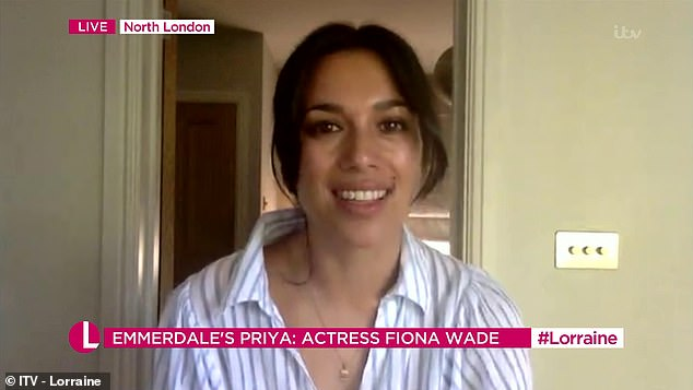 Lauren viewers were stunned by the strange resemblance of Emerald actress Fiona Wade with Meghan Markle on Today's Show