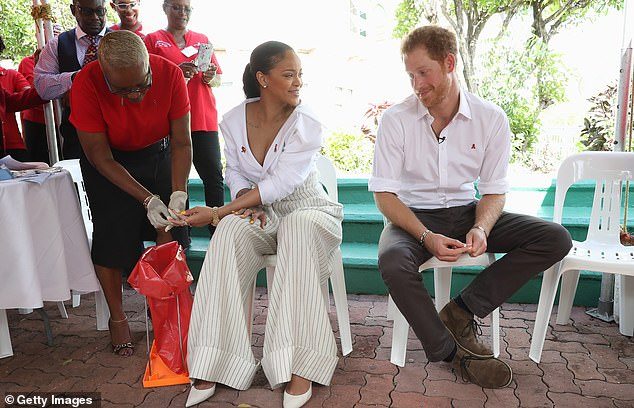 World Collision: Rihanna was in Barbados with Prince Harry in 2019