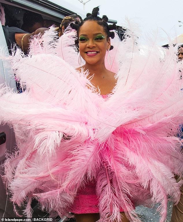 In 2018, she is named Rihanna