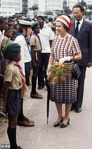 The Visits: Portrait of Queen Elizabeth II touring Bridgetown