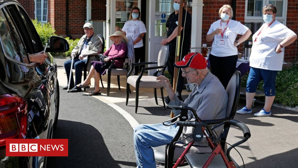 Coronavirus: Care homes in England for an additional £ 546 million in funding