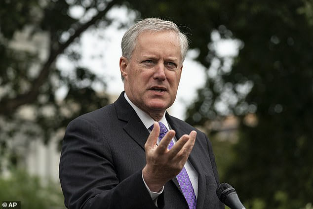 White House Chief of Staff Mark Meadows told reporters Thursday morning that the head of the Centers for Disease Control and Prevention, Dr. Robert Redfield, was `` not the closest to making a decision '' when it came to the schedule for distributing the COVID-19 vaccine.