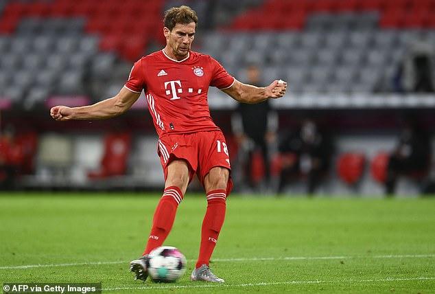 Bayern Munich midfielder Leon Goretzka scored the second goal against Schalke