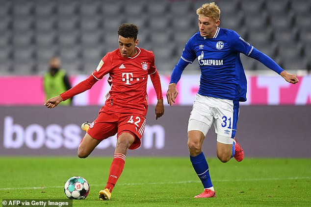 Jamal Musiala revolted in the eighth goal, becoming Bayern's youngest goalscorer ever