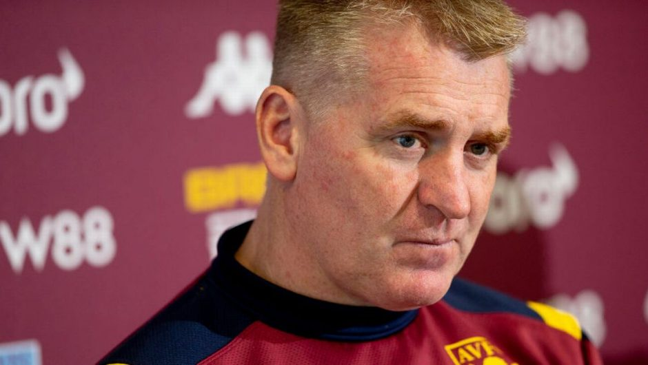 Dean Smith responds to Bertrand Traore with the completion of Aston Villa's triple move