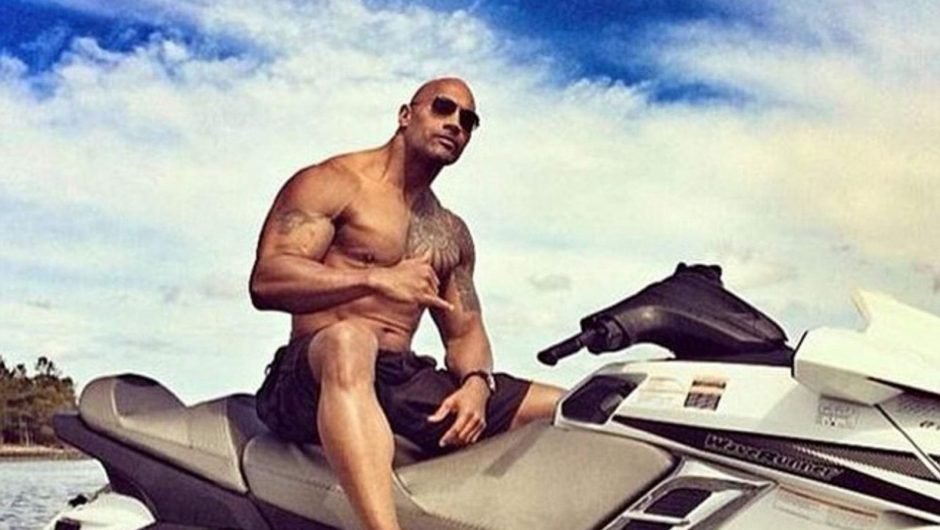 "Dwayne ""The Rock"" Johnson rips off the electric gate with his bare hands to avoid being late for work 