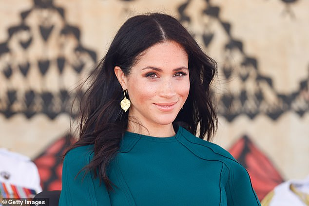 Meghan Markle (seen in 2018) praised the late Supreme Court Judge Ruth Bader Ginsburg, calling her a