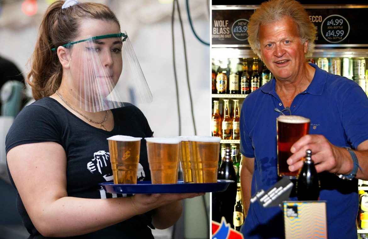 Wetherspoons president Tim Martin warns bars and restaurants will face the problem of losing as many as 1 million jobs
