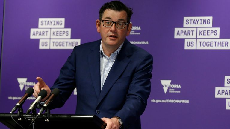 Victoria State's Chief Minister Daniel Andrews says the numbers are cause for great optimism & # 39;