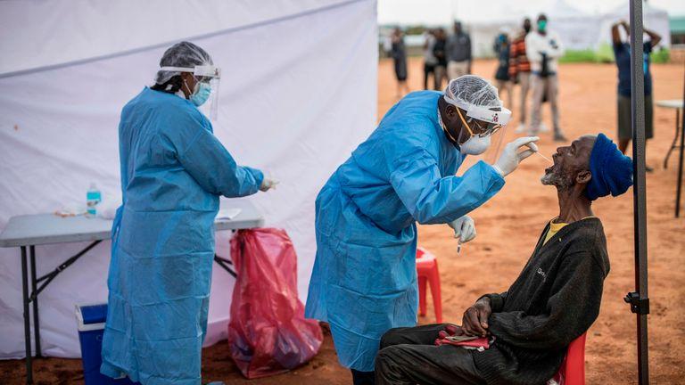 Johannesburg is being tested for Coronavirus