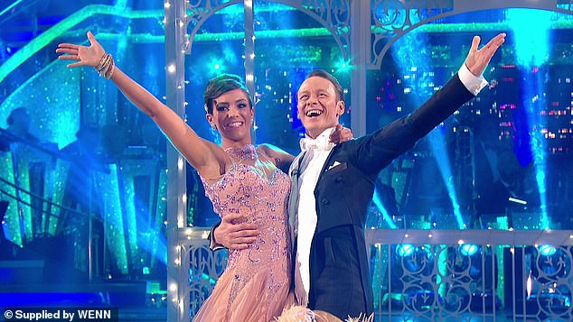 Impressive: Another potential contestant is Wayne Bridge, whose wife Frankie took second place in the Strictly Come Dancing competition in 2014 (pictured)