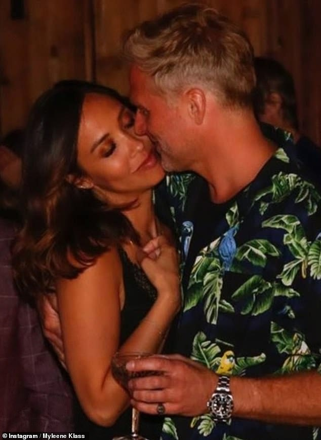 Happy news: This announcement comes just a week after Milene revealed she was engaged to her lover Simon Mutson