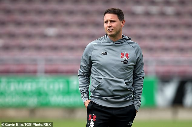 The press conference for Orient Manager Ross Embleton was also canceled before the match