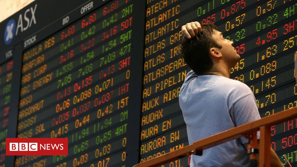 Asian stock markets continue the global fallout