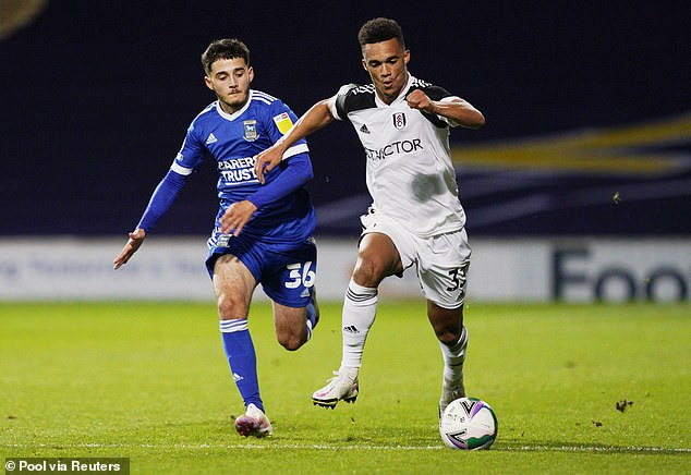 Anthony Robinson (L) could give the headache of choosing Scott Parker at Craven Cottage