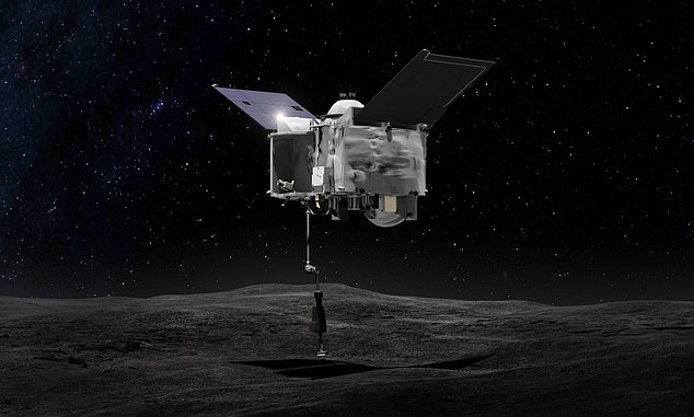 NASA launched OSIRIS-Rex (Origins, Spectral Interpretation, Resource Identification, and Regolith Security Explorer) to the asteroid Bennu in 2018 to closely study the object.
