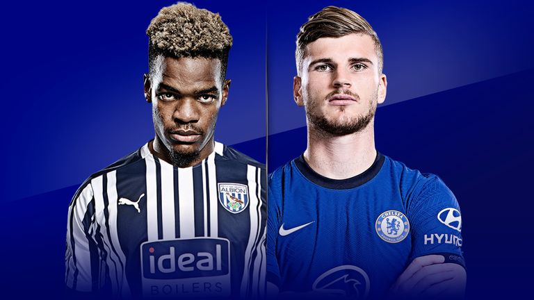 Watch the West Brom and Chelsea match from 5 pm on Saturday live on Sky Sports