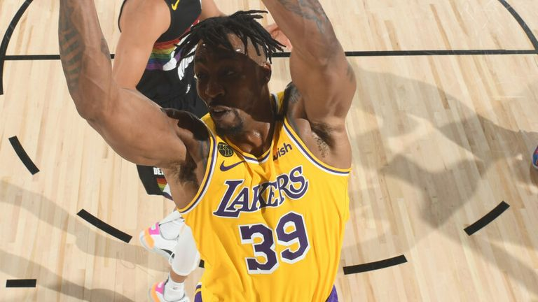 Dwight Howard rises to the edge in Game 4 of the Western Conference Finals