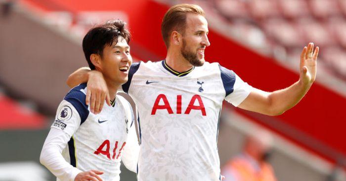 Son Heung Min and Harry Kane Tottenham