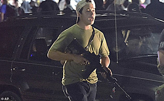 Prosecutors said Rittenhouse shot and killed two protesters and wounded a third on the streets of Kenosha on August 25.