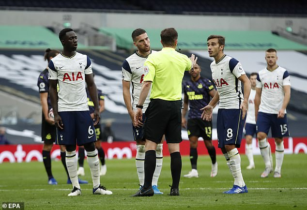 Tottenham face Chelsea on Tuesday - just two days after the Premier League match with Newcastle