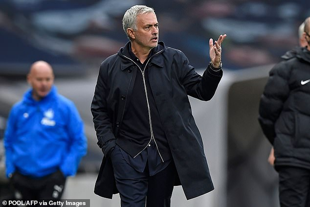 Jose Mourinho bemoans Tottenham's list of matches and says that means he must give up the UEFA Cup