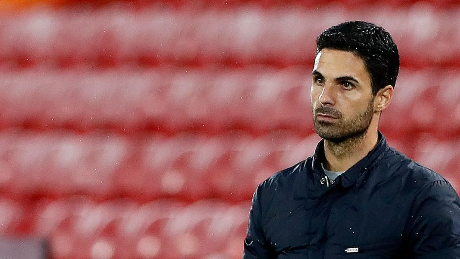 Mikel Arteta enters Liverpool massively after Arsenal's loss at Anfield
