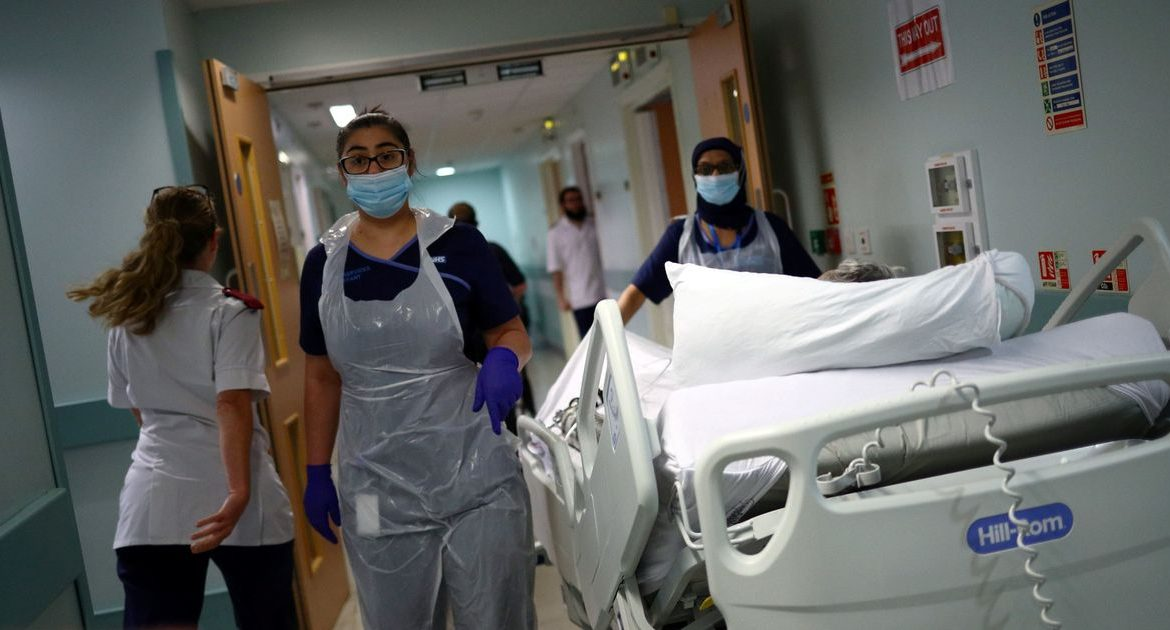 The number of deaths in hospitals due to the Corona virus increased by 47, with the increase in infection rates