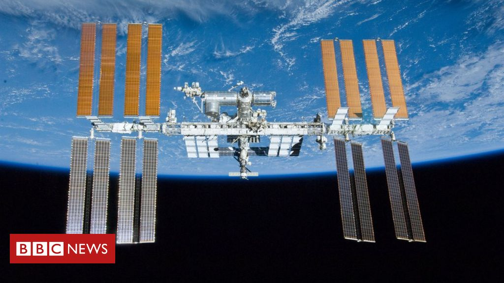The space station crew woke up to look for an air leak
