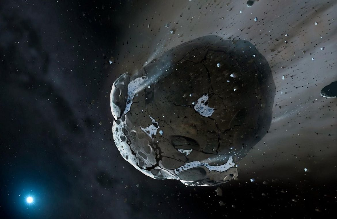Asteroid will pass through the Earth on September 14, 2012ql2