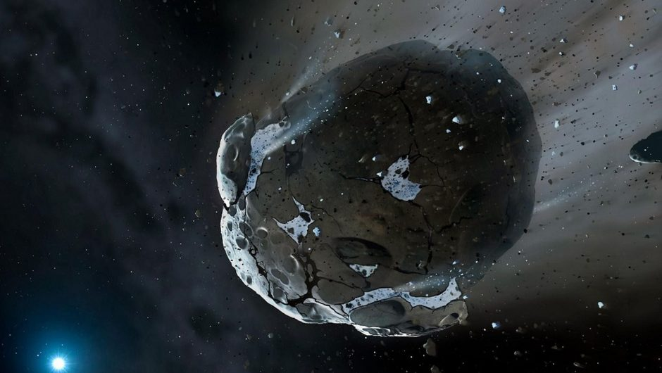 An amateur astronomer discovered a potentially dangerous asteroid a few days before it flew away from Earth