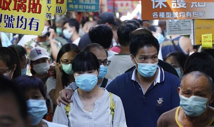 "Chinese ""third wave"" fears of a missile spike after a horror corona virus leak in Hong Kong laboratory 