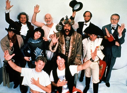 Staff, Bill & Ted's Excellent Adventure.