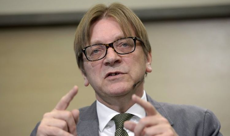 "Guy Verhofstadt turns against the European Union angry at the bloc's inaction – ""Get Europe's grip!"" 