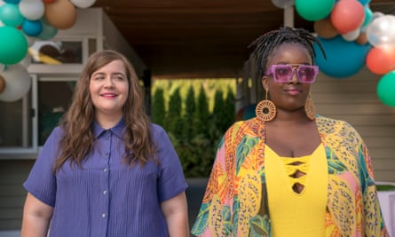 Great idea ... Adefope in Shrill with Aidy Bryant.