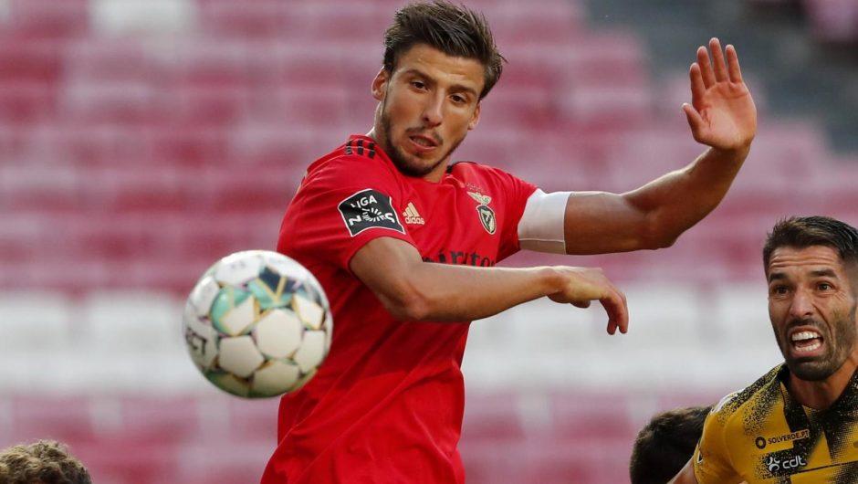 Man City and Tottenham Hotspur goal drops Robin Dias a major exit hint after scoring in Benfica's win