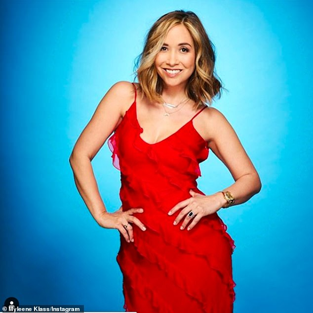 Confirmed: Myleene Klass is the first celebrity to appear in the 2021 series Dancing On Ice
