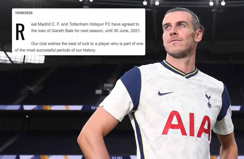 Real Madrid shot Gareth Bale despite Tottenham's new four Champions League titles