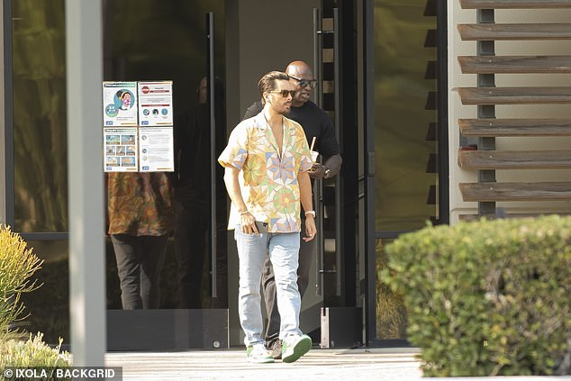 Scott Spotted: Just days after the Kardashians announced their long-running reality series