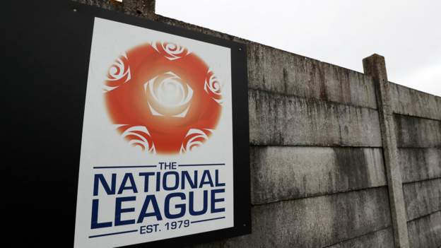 The National League clubs said they would receive an emergency grant from the government
