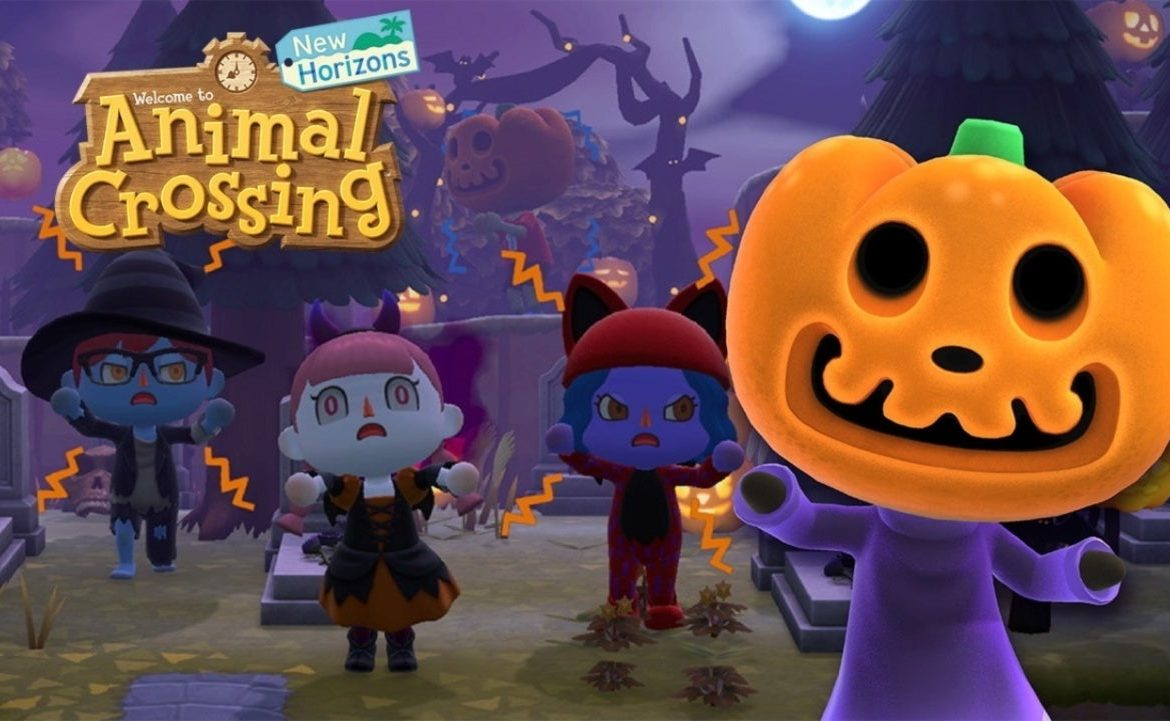 The New Horizons Halloween update is now live