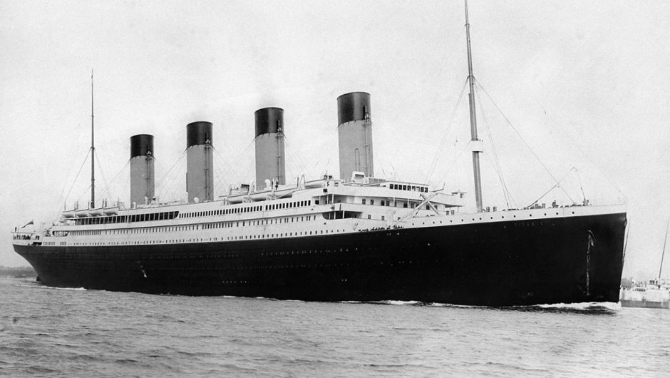 The aurora borealis that lit the sky over the Titanic may explain its sinking