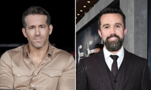 Ryan Reynolds and Rob McKelleni.  A lifetime fan described their plan to invest in Wrexham as