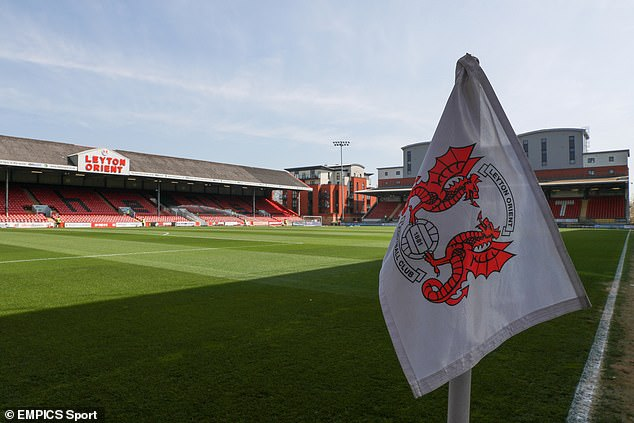 Leyton Orient announced that a group of first-team players have tested positive for the virus
