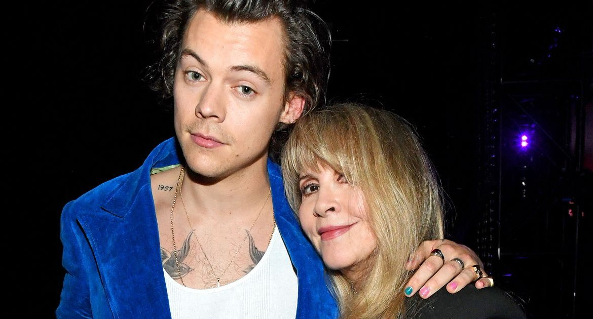 Music legend Stevie Nicks makes a lustful confession for Harry Styles
