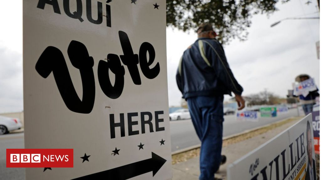 Texas Governor downsizing voting sites weeks before the election