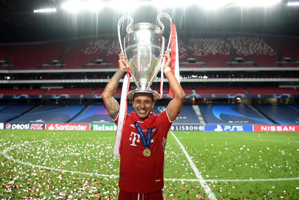 Paris Saint-Germain - Bayern Munich - UEFA Champions League Final - Thiago