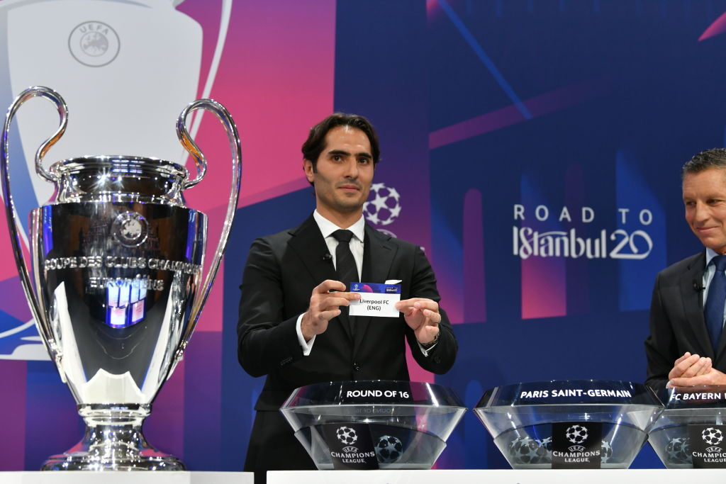 Europe's top soccer clubs await Champions League group stage draw