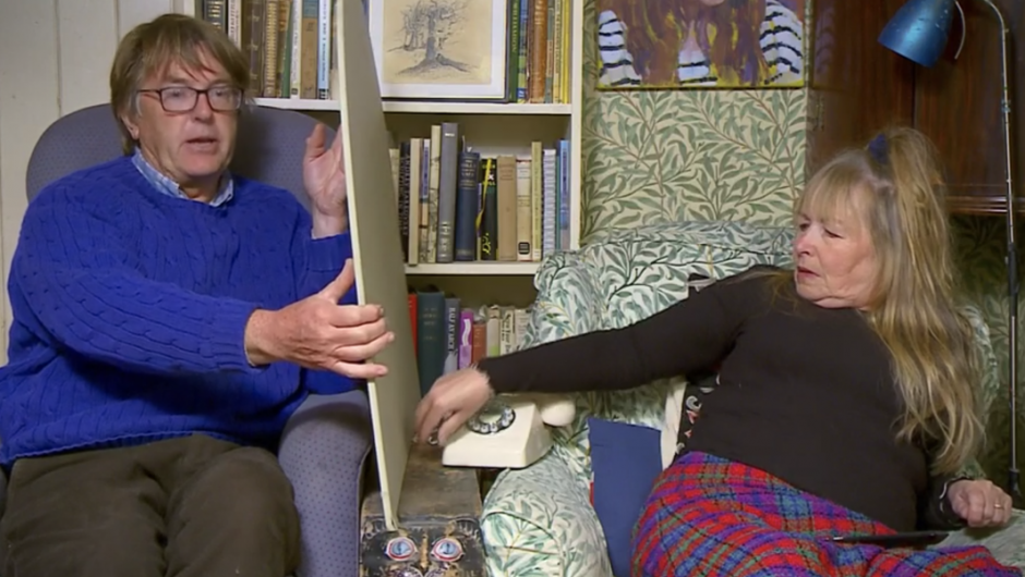 Gogglebox stars create a unique approach to social distancing
